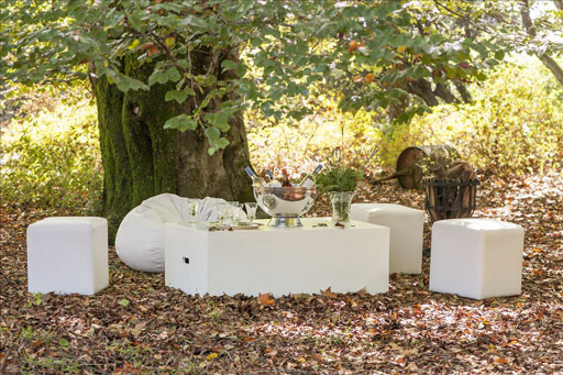 Laurie Kohrs Table Occasional contemporary event and wedding furniture