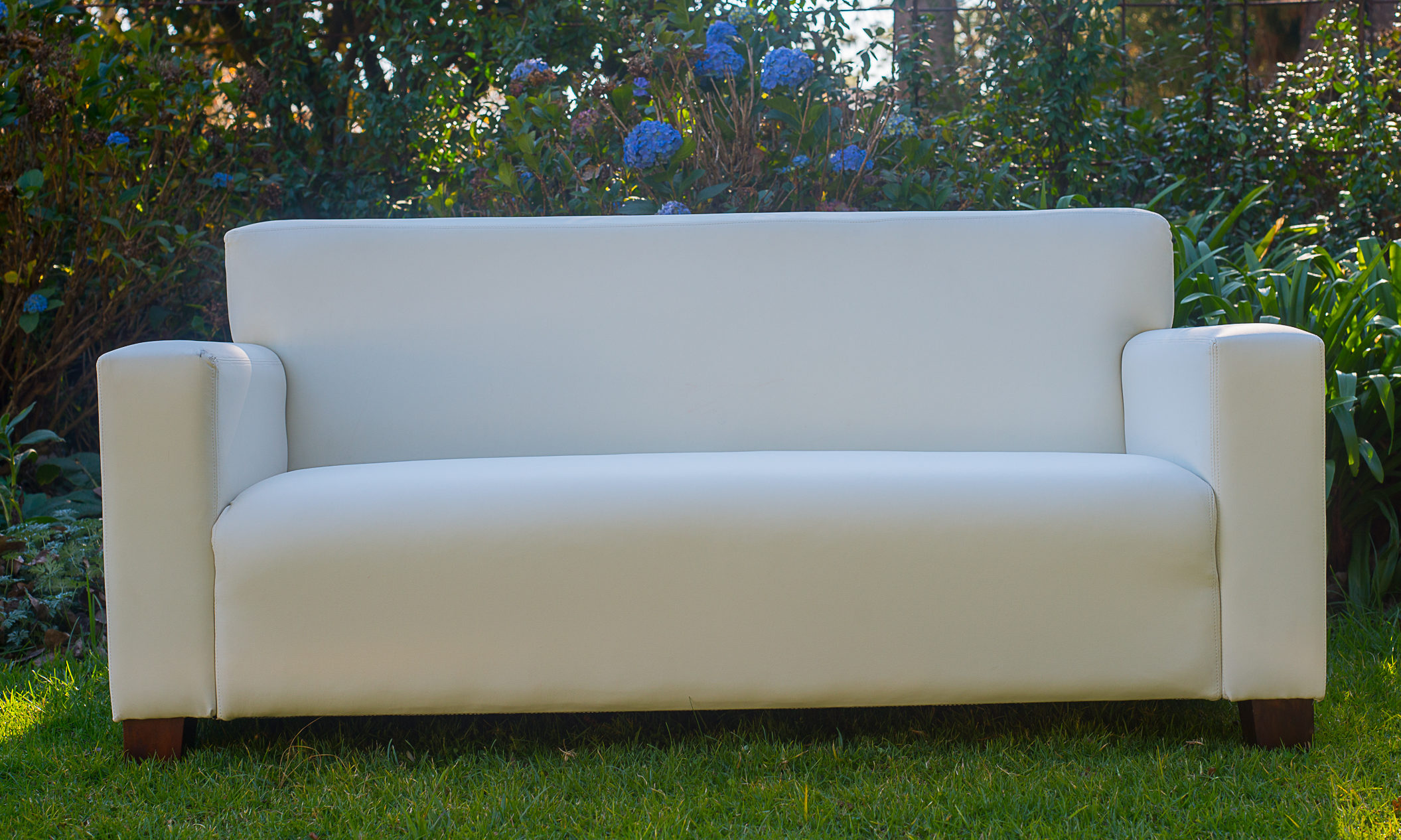 Laurie Kohrs White Couch